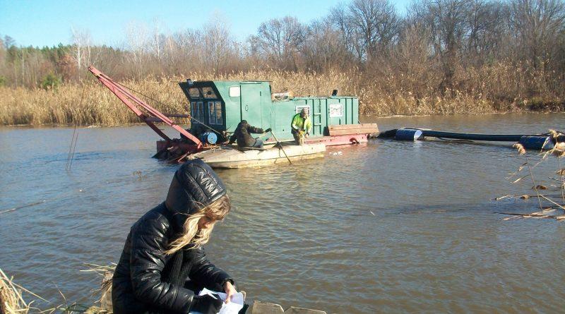 Розчистка річки Коломак на Полтавщині