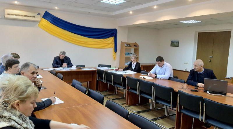 Засідання технічної ради Регіонального офісу водних ресурсів у Полтавській області