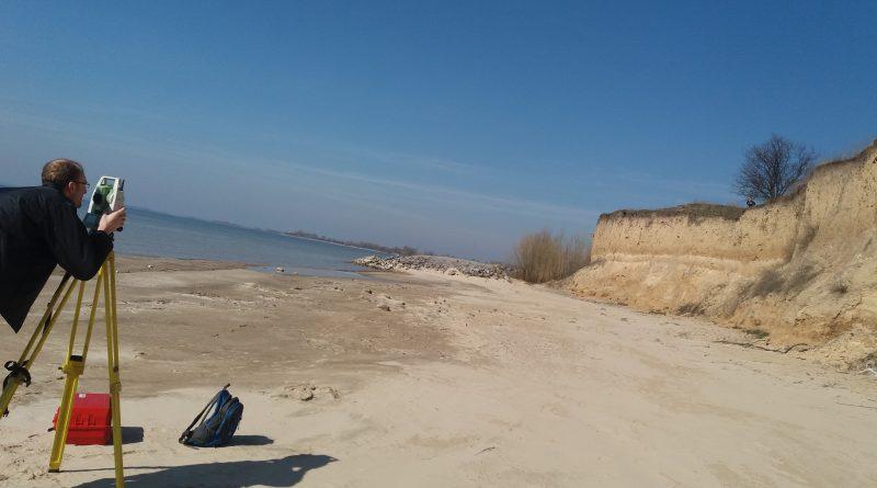 Обстеження  берега Кременчуцького водосховища  в с.Мозоліївка Глобинського району