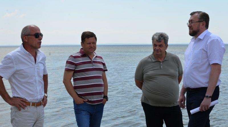 Нарада з питань проведення берегоукріплювальних заходів Кременчуцького водосховища