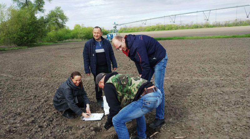 Моніторинг зрошуваних земель